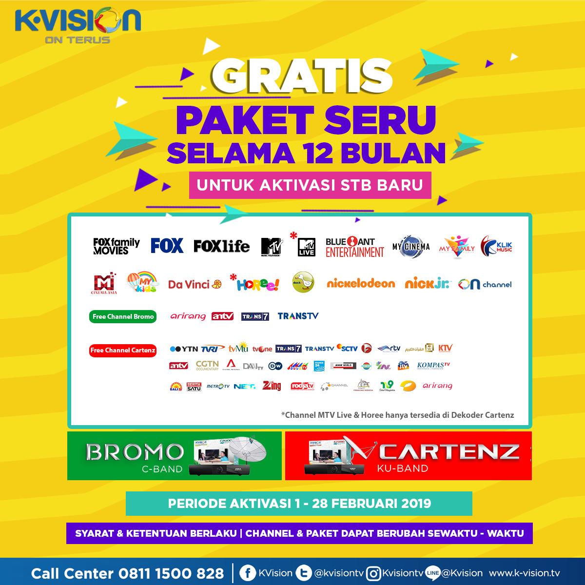 Channel Seru Di K Vision