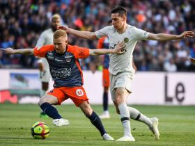 HASIL PERTANDINGAN: MONTPELLIER 3-2 PARIS SAINT-GERMAIN