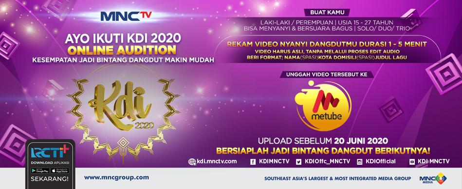 Audisi Kontes Dangdut Indonesia (KDI) 2020