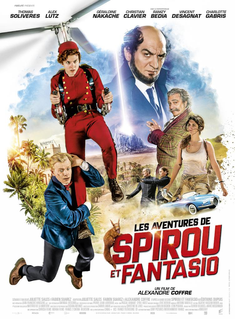 FOX FAMILY MOVIES: SPIROU & FANTASIO'S BIG ADVENTURES