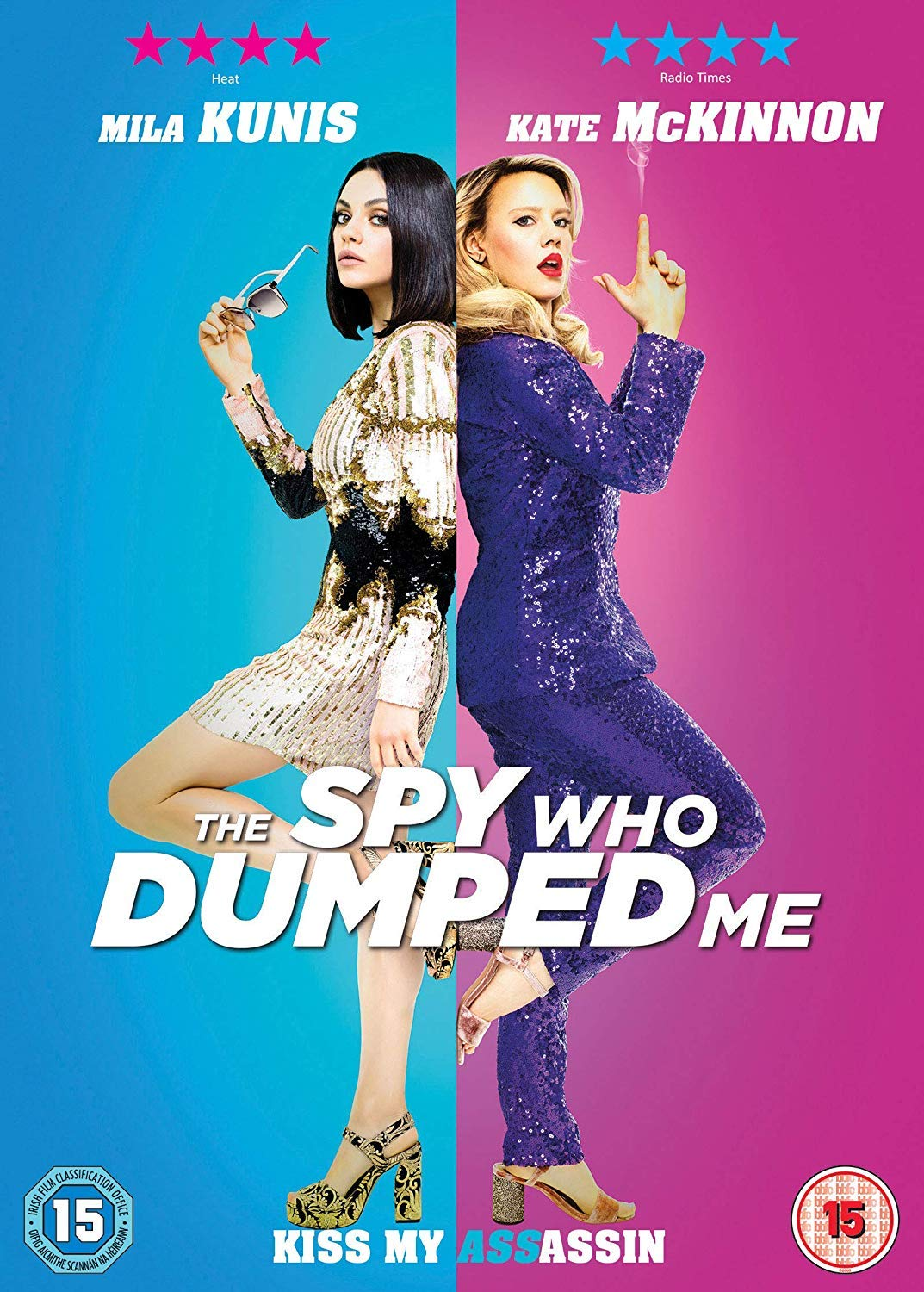 FOX ACTION MOVIES, THE SPY WHO DUMPED ME