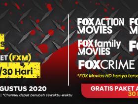 BELI PAKET FOX MOVIES, DAPATKAN GRATIS PAKET ANAK DAN PAKET BINTANG!
