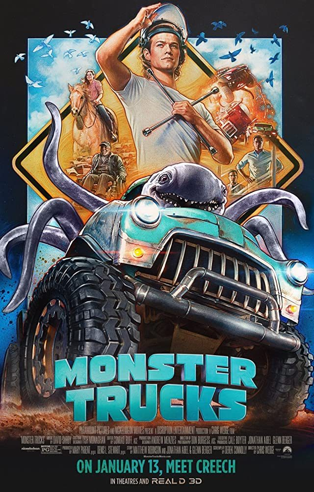 FOX ACTION MOVIES: MONSTER TRUCKS