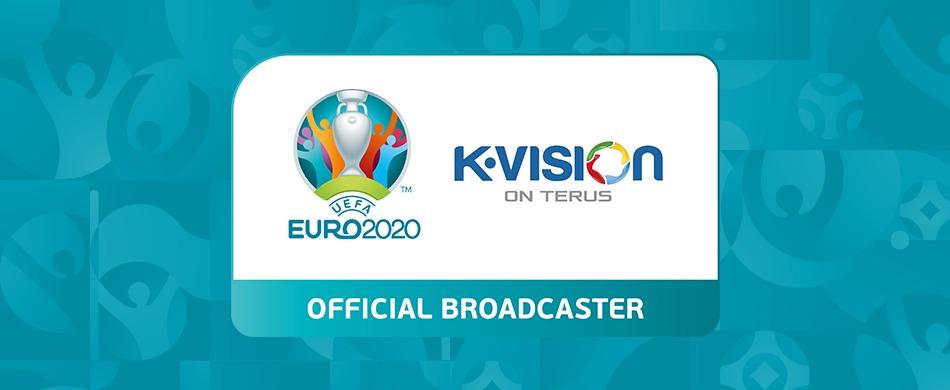 KVISION RESMI MENAYANGKAN EURO 2020