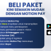 BELI PAKET K-VISION KINI SEMAKIN MUDAH MELALUI MOTION PAY!