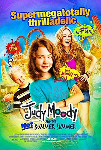 FOX FAMILY MOVIES: JUDY MOODY AND THE NOT BUMMER SUMMER
