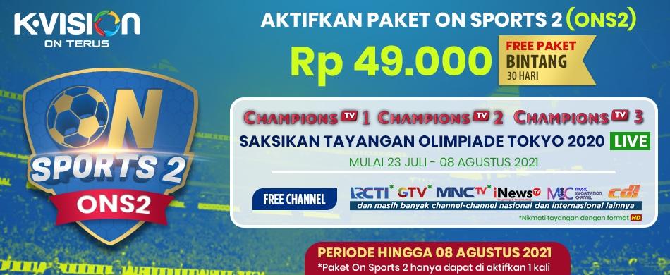 Promo Paket On Sports 2 (ONS2)