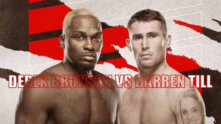 JADWAL UFC VEGAS 36 AKHIR PEKAN INI: BRUNSON VS PETARUNG GORILA