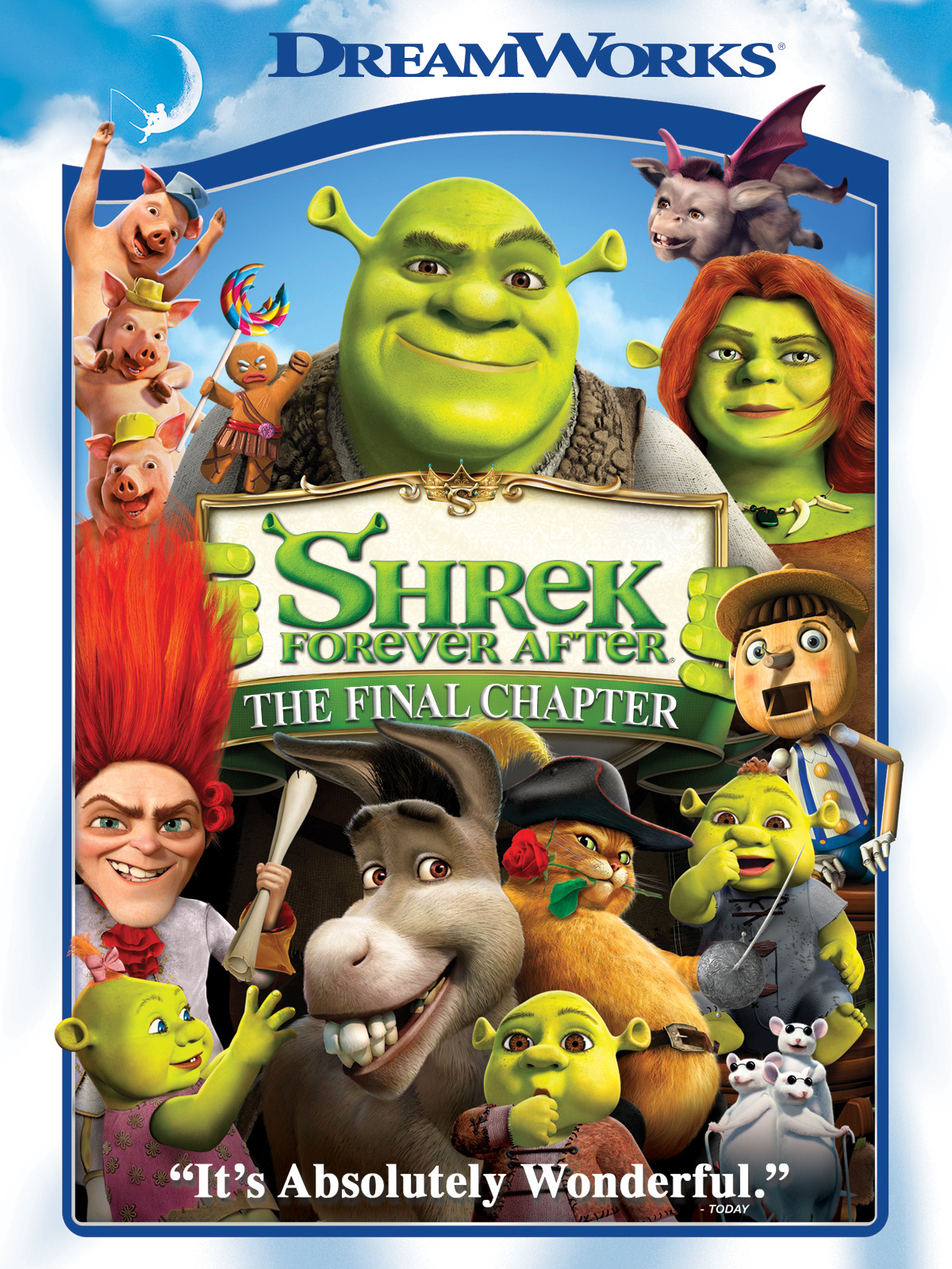 FOX FAMILY MOVIES: SHREK FOREVER AFTER
