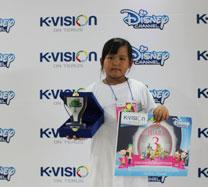 Warna-warni Ceria Bersama K-Vision dan Disney
